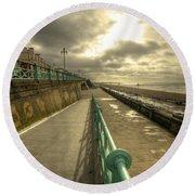 Brighton Promenade Round Beach Towel
