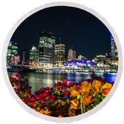 Brisbane Round Beach Towel