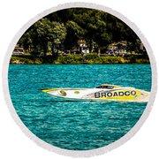Broadco Property Round Beach Towel