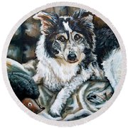 Brody Round Beach Towel