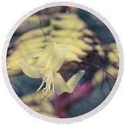 Bromeliaceae - Alcantarea Geniculata Round Beach Towel