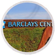 Brooklyn's Barclays Round Beach Towel