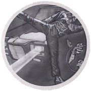 Bruce Lee Is Kato   1 Round Beach Towel
