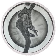 Bruce Lee Is Kato 2 Round Beach Towel