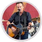 Bruce Springsteen 11 Round Beach Towel