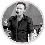 Bruce Springsteen 13 Round Beach Towel