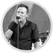 Bruce Springsteen 14 Round Beach Towel