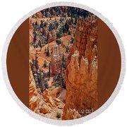 Bryce Canyon 02 Round Beach Towel