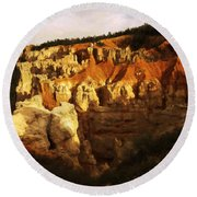 Bryce Canyon 3 Round Beach Towel