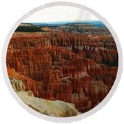 Bryce Canyon In The Afternoon Round Beach Towel