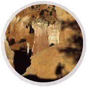 Bryce Canyon National Park Hoodo Monolith Sunrise From Sunrise P Round Beach Towel