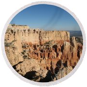 Bryce Canyon Scenic View Round Beach Towel