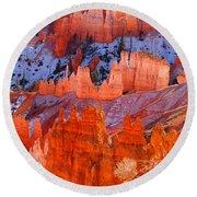 Bryce Canyon Utah Round Beach Towel