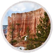 Bryce Curved Formation Wall Round Beach Towel