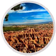Bryce Round Beach Towel