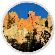 Bryce Canyon Panoramic Round Beach Towel
