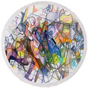 bSeter Elyion 19 Round Beach Towel