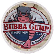 Bubba Gump Shrimp Co. Round Beach Towel
