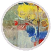 Bubble Tree - 43ff04 Right Round Beach Towel