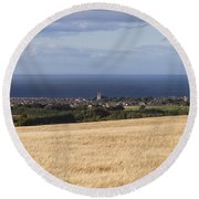 Buckie Round Beach Towel