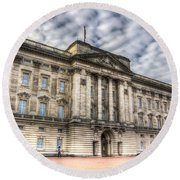 Buckingham Palace Round Beach Towel