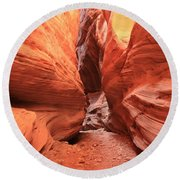 Buckskin Bulge Round Beach Towel