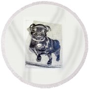 Buddy Round Beach Towel