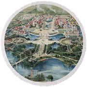 Buffalo 1901 Round Beach Towel