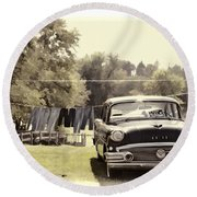 Buick For Sale Two Round Beach Towel