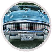 Buick Grills-hdr Round Beach Towel