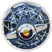 Buick Skylark Wheel Round Beach Towel