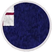 Bunker Hill Flag Round Beach Towel