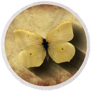 Butterfly 5 Round Beach Towel