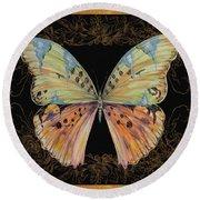 Butterfly Treasure-sofia Round Beach Towel