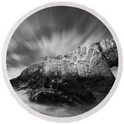 Bwa Gwyn Round Beach Towel by Dave Bowman