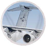 C-17 Globemaster Round Beach Towel