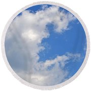 C Round Beach Towel