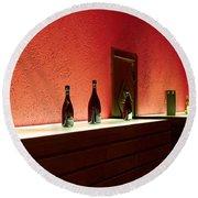 Ca Del Bosco Winery. Franciacorta Docg Round Beach Towel