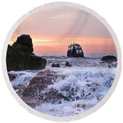 Cabo Sunrise Round Beach Towel