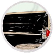 1959 Buick Electra 225 Fins Round Beach Towel