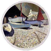 Cadgwith The Lizard Round Beach Towel