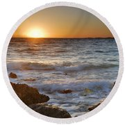 Cadiz Round Beach Towel
