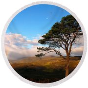 Caledonian Colours Round Beach Towel