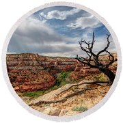 Calf Creek Round Beach Towel