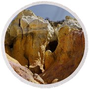 Calhan Paint Mines 1 Round Beach Towel