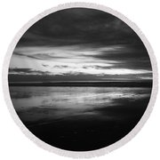 Cardiff By The Sea Round Beach Towel