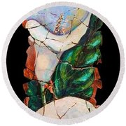 Calla Fresco Round Beach Towel