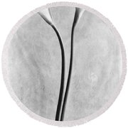 Calla Lilies, Mexico City, 1925 Round Beach Towel
