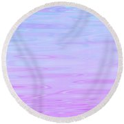 Calm Waters Daydream Round Beach Towel