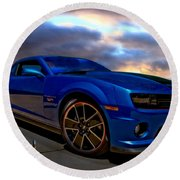 Camaro Hot Wheels Edition Round Beach Towel